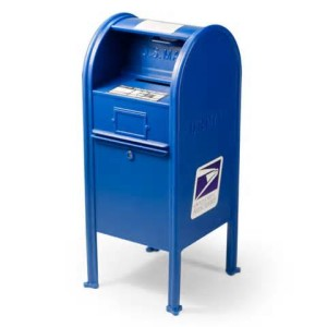 US post box